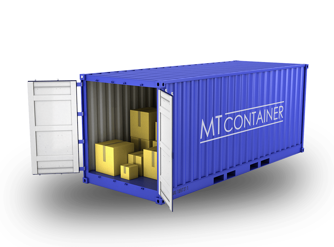 Der Lagercontainer Containertyp